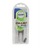 ที่ซ่อมกรีน ยี่ห้อ Champ รุ่น Divot Tool (Plastic)