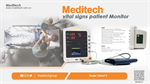 Oxima3 Vital Signs Monitor Three Parameters NIBP SpO2 and Pulse Rate Ce Approved