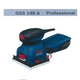 เครื่องขัดกระดาษระบบสั่นสะเทือน GSS140A