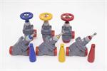 Cold storage valve compressor valve stop check valve