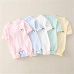 ผ้าฝ้ายบริสุทธิ์บางสำหรับทารกแรกเกิดในช่วงฤดูใบไม้ผลิและฤดูใบไม้ร่วง