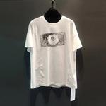 New cartoon graffiti T-shirts for both men and women