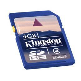 เมมโมรี่การ์ดSD CARD KINGSTON 4GB SDHC CLASS -4