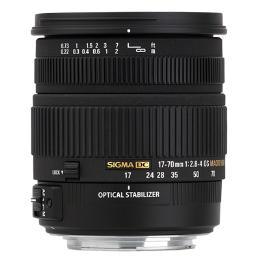 เลนส์Sigma 17-70mm F2.8-4.0 Macro OS HSM