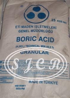 BORIC ACID (Turkey)