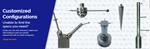 เข็มวัดชิ้นงาน หัวโพรบปลายก้านทับทิม เพื่อความแม่นยำในการวัดชิ้นงานโดยการสัมผัส ใช้กับเครื่อง CMM