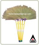 ไม้กวาดดอกหญ้า ด้ามพลาสติก OT-006