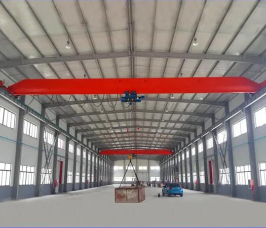 10t Single Girder Top Running Bridge Crane with Convenient