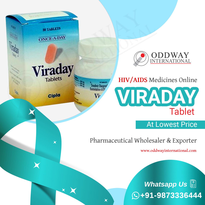 ซื้อ Viraday ออนไลน์จากผู้ส่งออกยา