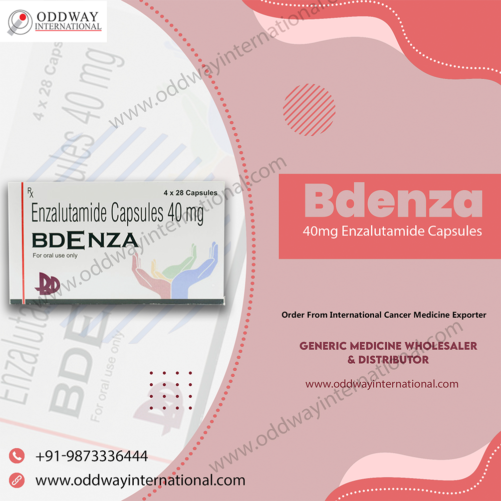 ซื้อออนไลน์ Bdenza 40 มก. Enzalutamide Capsule