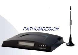 เครื่องแปลงสัญญาณโทรศัพท์มือถือ รับ ส่ง FAX ได้ /