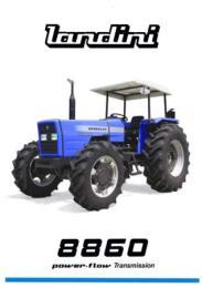 รถฟาร์มแทรกเตอร์ Landini รุ่น 8860