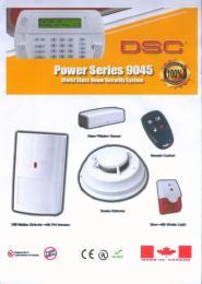 ชุดสัญญาณกันขโมยแบบไร้สาย DSC POWER SERIES 9045