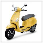 มอเตอร์ไซค์ ( VESPA ) Primavera 125cc
