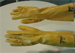 ถุงมือกันสารเคมี PDS-WSWGN835