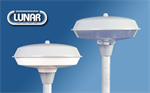 โคมไฟหัวเสาจานบิน สำหรับหลอดคอมแพคฟลูออเรสเซนต์ หรือ หลอดกลม