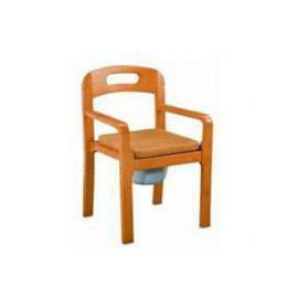 เก้าอี้นั่งถ่ายแบบไม้พับไม่ได้ NT025
