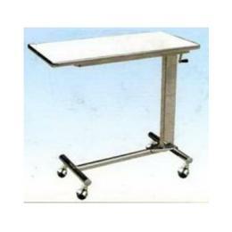 โต๊ะคร่อมเตียง สแตนเลส NT135