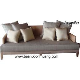 เก้าอี้รับแขกไม้สัก 01 (BB-B-01)