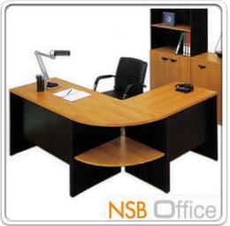 โต๊ะทำงานตัวแอล 3 ชิ้น VENUS 180W1 140W2 cm เมลลามีน