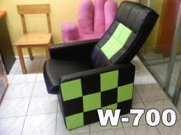 เก้าอี้โซฟาร้านอินเตอร์เน็ต ขาไม้ W700