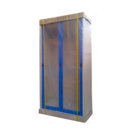 ตู้เหล็กบานเลื่อนกระจกสูง รุ่น SG-18