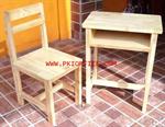โต๊ะเก้าอี้ไม้ยางพาราทั้งตัวระดับมัธยมศึกษา
