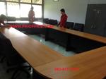 ชุดโต๊ะประชุมขนาด 19 คน