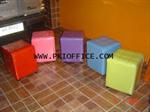 เก้าอี้สตูลสี่เหลี่ยม