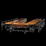 โต๊ะประชุมมาตรฐาน 12 ที่นั่ง