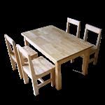 ชุดโต๊ะนักเรียนอนุบาล 4-6 ที่นั่ง