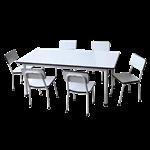 ชุดโต๊ะนักเรียนอนุบาล 6-10 ที่นั่ง