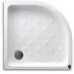 ถาดรองอาบทรงโค้ง สีขาว STP002