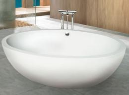 อ่างอาบน้ำ สีเนื้อเข้ม