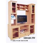 ตู้โชว์วาง TV SH160-3W