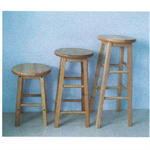 เก้าอี้ สตูล ไม้ยาง P001