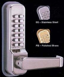 ลูกบิดเปิด-ปิดประตูโดยใช้รหัส