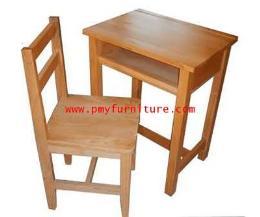 โต๊ะเก้าอี้นักเรียนไม้ยางพารา