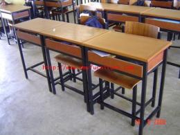 โต๊ะ+เก้าอี้นักเรียน A4 มัธยม