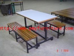 ชุดโต๊ะอาหารนักเรียนอนุบาล