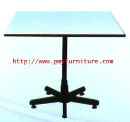 โต๊ะเอนกประสงค์ขา 5 แฉกสีดำ