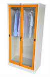 ตู้เสื้อผ้าบานเลื่อนกระจกสูง EG26
