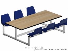 โต๊ะโรงอาหาร 3
