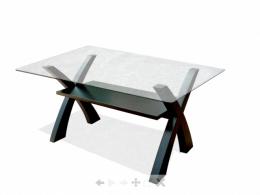 โต๊ะกลางเหลี่ยม X-Tea
