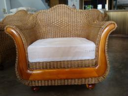 เเก้าอี้สุพรรณหงส์สานใส้หน้าไม้