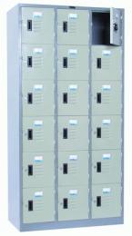 ตู้ล็อคเกอร์ 18 ประตู รุ่น - LK-6118