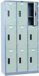 ตู้ล็อคเกอร์ 9 ประตู  รุ่น - LK-6109