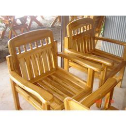 เก้าอี้ไม้สัก 000213