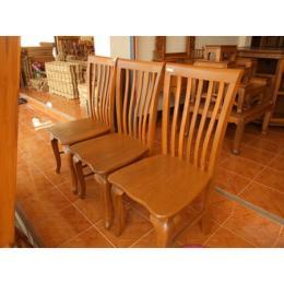 เก้าอี้ไม้สัก 000216