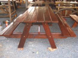 B012 ชุดโต๊ะสำหรับโรงอาหาร ขนาด 75 180 ซม.
